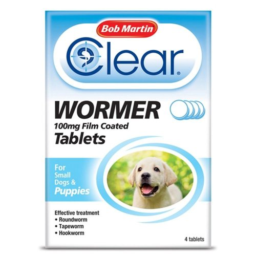 Bob Martin Clear Wormer Tablets For Dogs