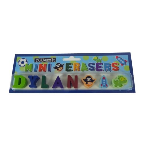 Childrens Mini Erasers - Dylan