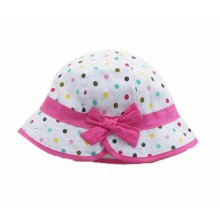 Summer Baby Girl Caps Cotton Sun Hat For 2-3 Years Baby Colors