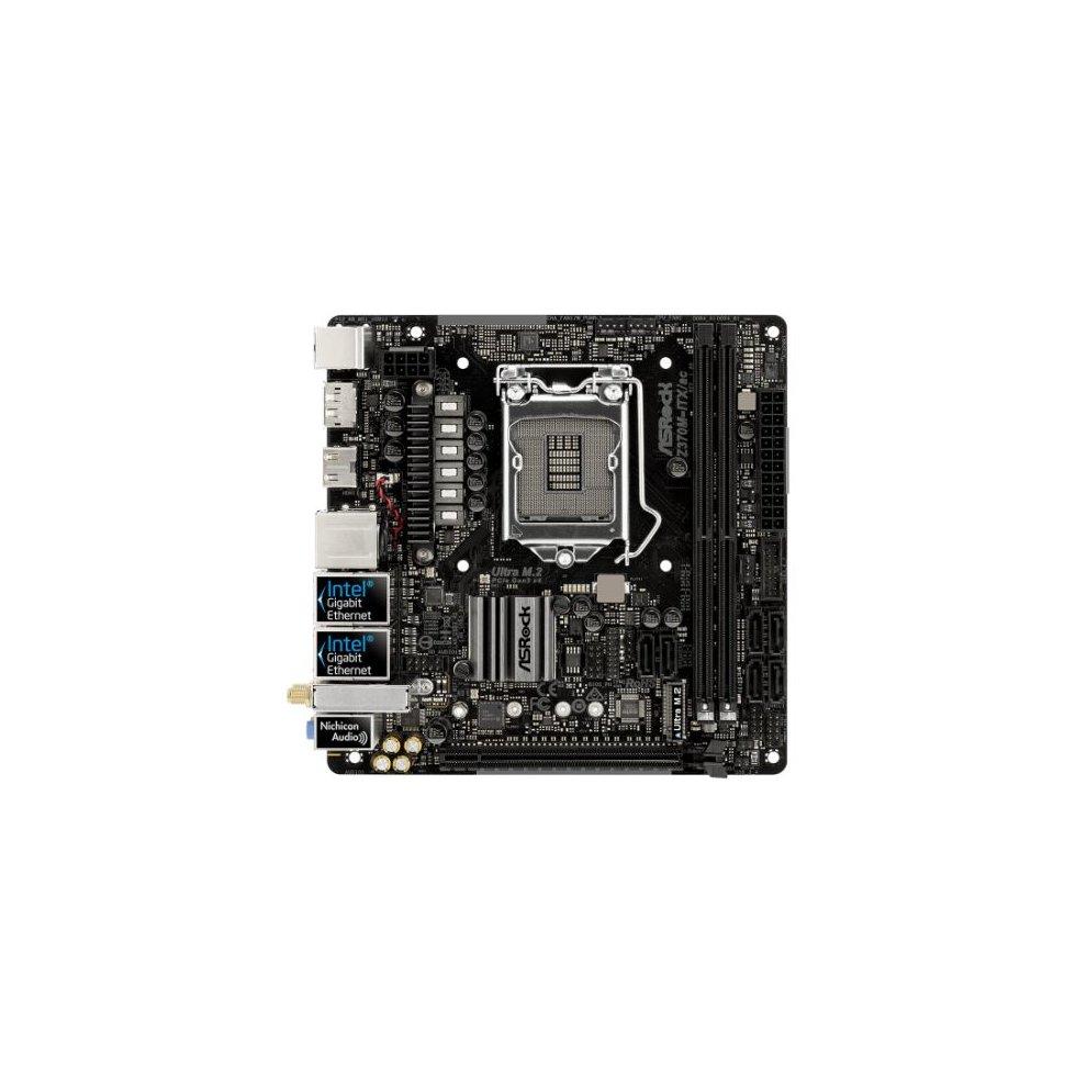 Asrock Z370M-ITX/AC, Intel Z370, 1151, Mini ITX, 2 DDR4, 2 HDMI, DP