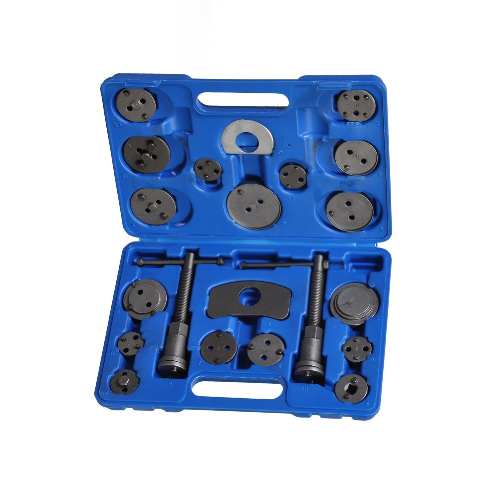 Tech Traders® BRAKE CALIPER PISTON REWIND WIND BACK TOOL KIT 21PCS