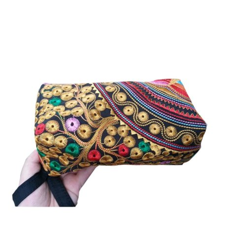 Ethnic Style Needlecrafts Handmade Embroidery, Purse & Hand bag & Purse(J)