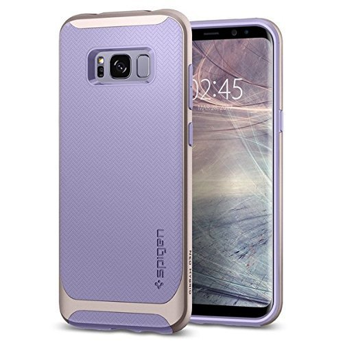 sale retailer 4a8ff de759 Samsung Galaxy S8 Case, Spigen [Neo Hybrid] Galaxy S8 Case Cover with  Flexible Inner Protection and Reinforced Hard Bumper Frame for Galaxy S8...