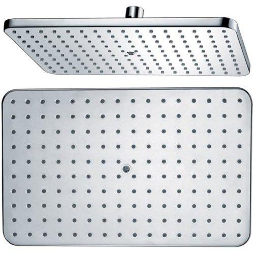 Dawn Kitchen & Bath HSS370100 Rectangle Rain Showerhead - Chrome