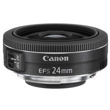 Canon EF-S 24mm f/2.8 STM Wide lens Black