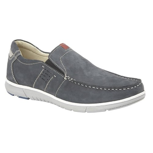 Roamers Mens Twin Gusset Panel Casual Shoes