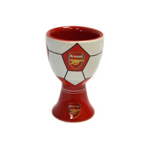 Arsenal Ceramic Egg Cup - Football Egg Cup - Gift Boxed