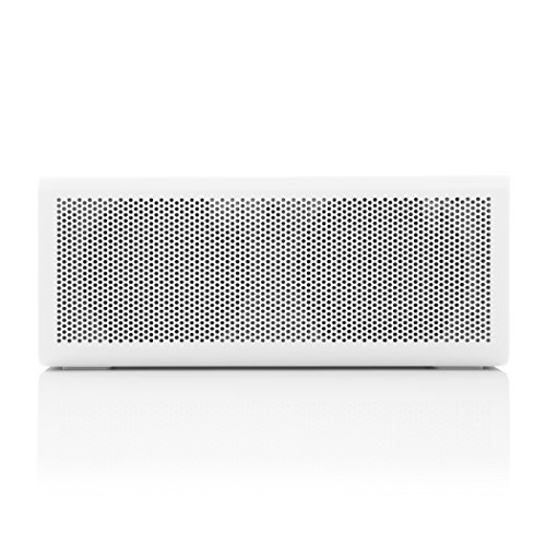 BRAVEN 805 Portable Wireless Bluetooth Speaker 18 Hours Playtime Built In 4400 mAh Power Bank Charger WhiteLight Gray