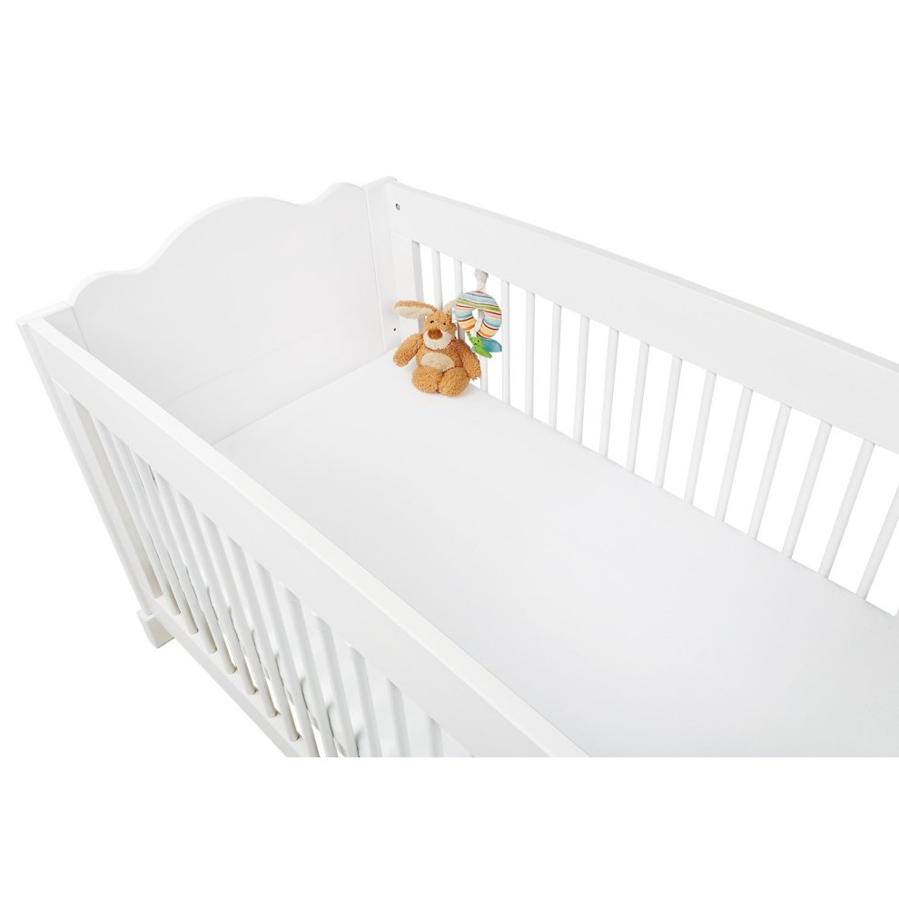 Deluxe Moses Basket Jersey Fitted Sheets 1x Lemon /& 1x Blue