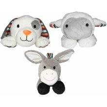 Zazu Animal Soft Toy Comforter with Heartbeat Sound