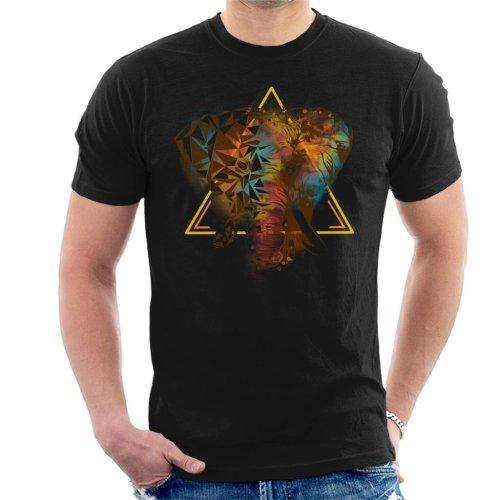 Geometric Elephant Men's T-Shirt