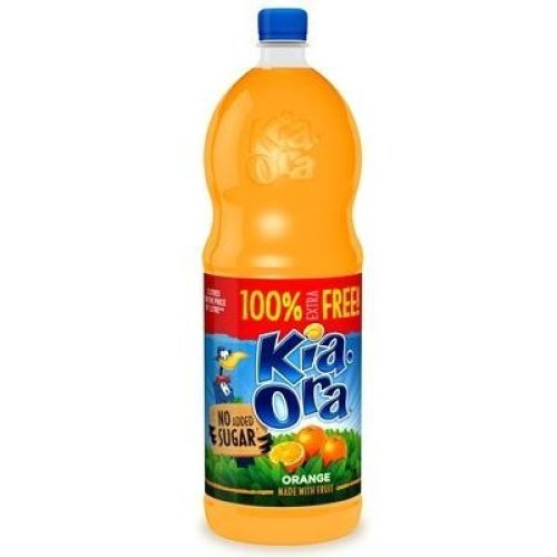 6pk Kia Ora Orange Squash - 2L