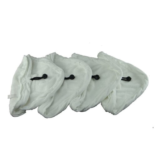 4 X Steam Mop Microfibre Cleaning Cloth Cover Pads Kit Fits Hot Spray