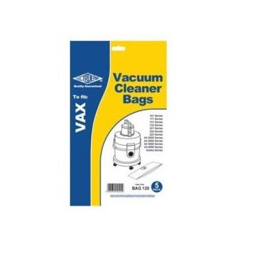 Electruepart BAG120 Vacuum Dust Bags To Fit Vax 1S - Pack of 5