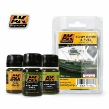 Ak00063 - Ak Interactive Set Slimy Grime and Fuel Set