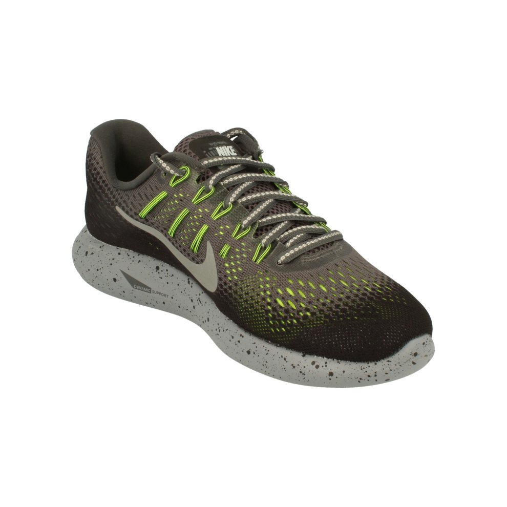 3233a7c44ef5a ... Nike Womens Lunarglide 8 Shield Womens Running Trainers 849569 Sneakers  Shoes - 3 ...