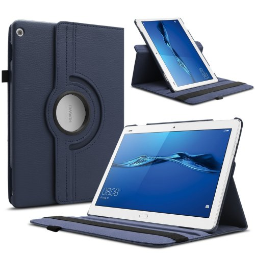 huge discount 2bc52 035b6 Infiland Huawei MediaPad M3 Lite 10 Tablet Case Cover, Ultra Slim  Lightweight leather Rotating standing Cover for Huawei MediaPad M3 Lite...