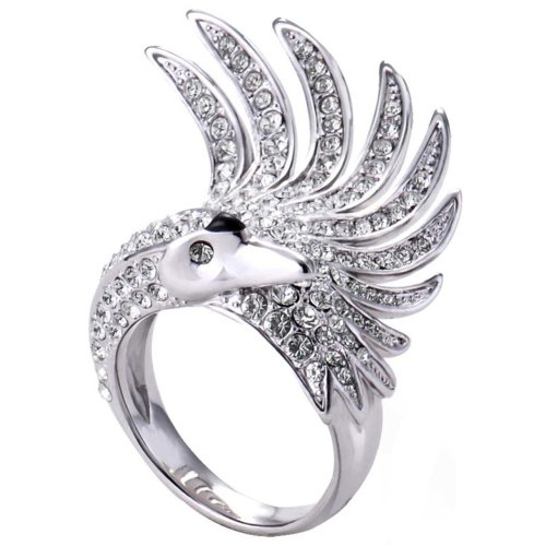 Swan Princess Ring Creative Ring For Women Personalized Ring