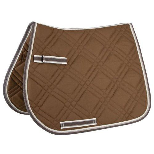 Kerbl Multipurpose Saddle Pad Firenze Pony Mocha 325413