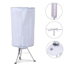 Homcom Heated Clothes Dryer | Portable Electric Clothing Dryer