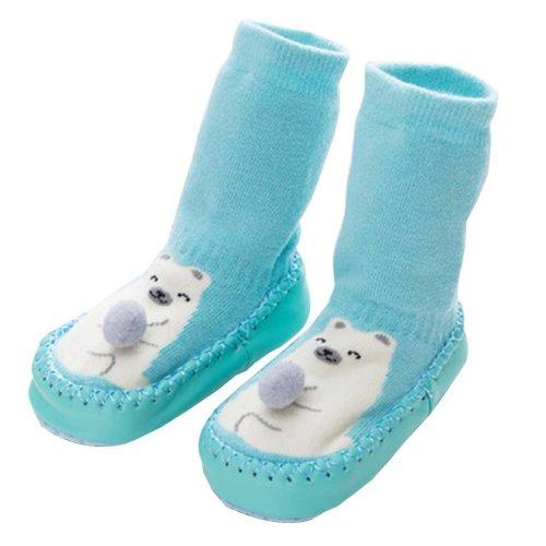 Baby Winter Socks Warm Socks Toddler Shoes Non-slip [Bear]
