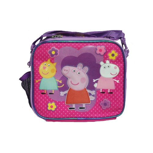 "Lunch Bag - Peppa Pig - Pink 10"" Kit Case Girls School New 107455"