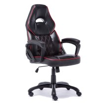 ESports S4 Black & Red Gaming Chair | Black & Red Racing Chair