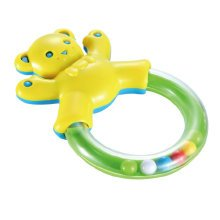 Baby Early Childhood Toys Baby Teeth Bell Hand Bell Safety Education Gift (Bear)
