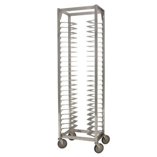 Prairie View LPZ2518 24 Pan Single Pizza Racks, 72.5 x 21.5 x 14.88 in.