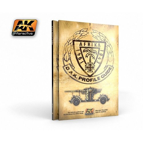 Akbook271 - Ak Interactive Book D.a.k. Colors Profile Guide