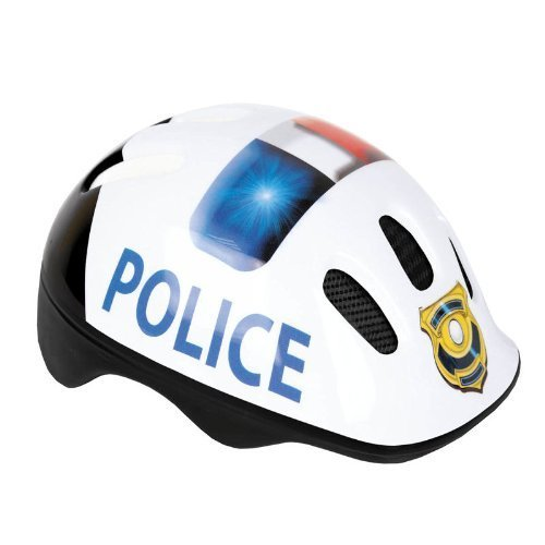 Spokey POLICE Headlock Kids Helmet - Multi-Colour, 49-56 cm