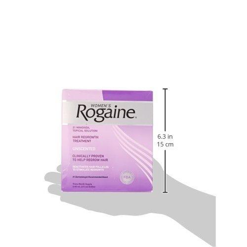 Rogaine Regular Strength for Women Triple Pack