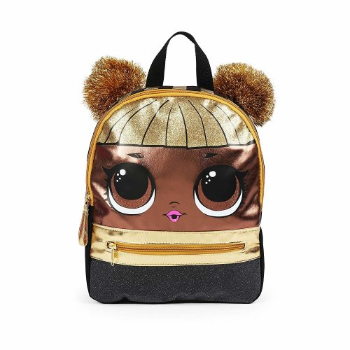 """Mini Backpack - LOL Surprise - Queen Bee Gold 10"""" New 022545"""