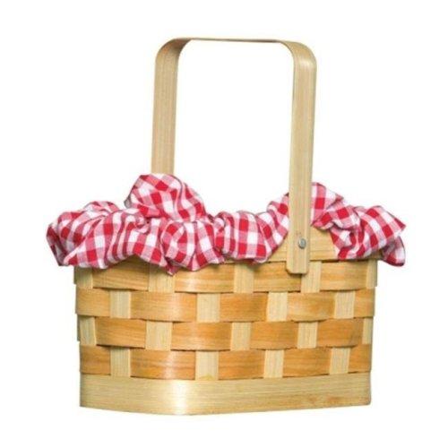 Purse Gingham Basket