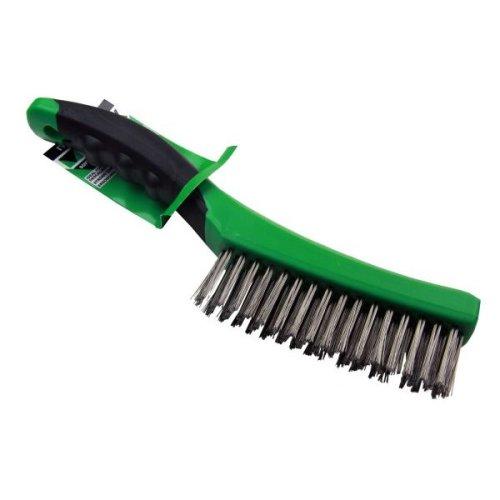 VEWERK Soft Grip Stainless Steel Wire Brush 260mm X 1 7011