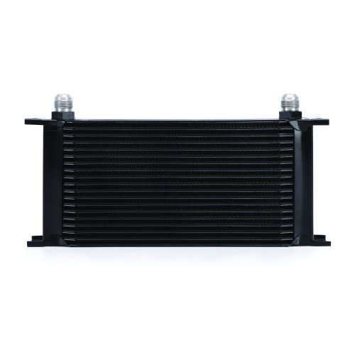 Mishimoto MMOC-19BK Universal 19-Row Oil Cooler, Black