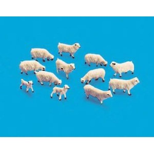 Sheep & Lambs - OO/HO Animals - Model Scene 5110 - free post