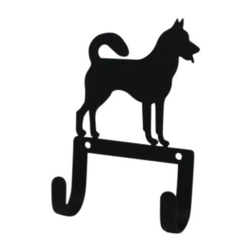 Jack Russel Dog Wall Mount Coat Leash Hook Village Wrought Iron