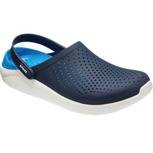 Crocs LiteRide Clog 204592-462 Mens Navy Blue slides Size: 10 UK