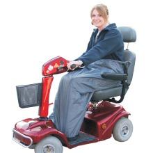 Waterproof Scooter Leg Cover / Wrap, Fleece Lined, Easy Access