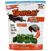 Tomcat 22486 oz. Refillable Mouse Killer Station, Pack - 16