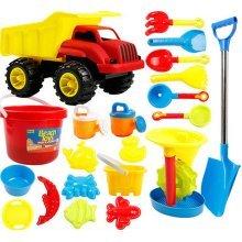 Kid's Beach Sand Toys Baths Pools Set 21PCS