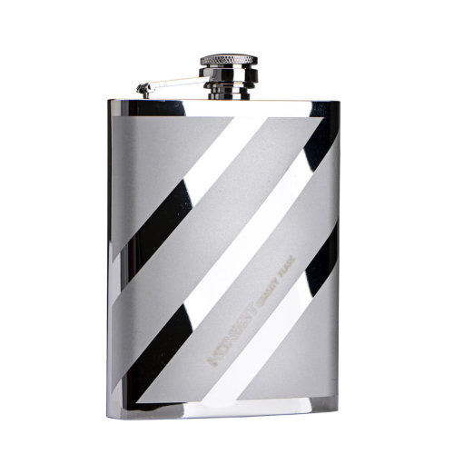[TWILL] Creative Hiking/Camping Stainless Steel Hip Flask, 8oz