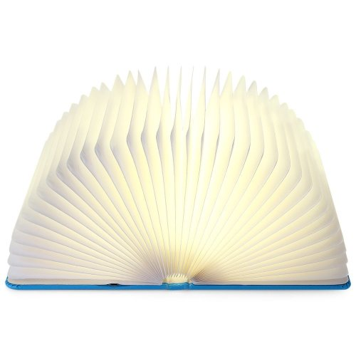 Lamp Light Led Decorative Rechargeable Color Table Lightweight Book Bed Ilifesmart Foldable Changing Reading blue Lamp Bedside kn80wNXZOP