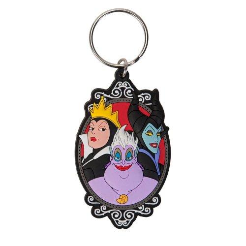 Key Chain - Disney - Soft Touch PVC Villains Group 23891