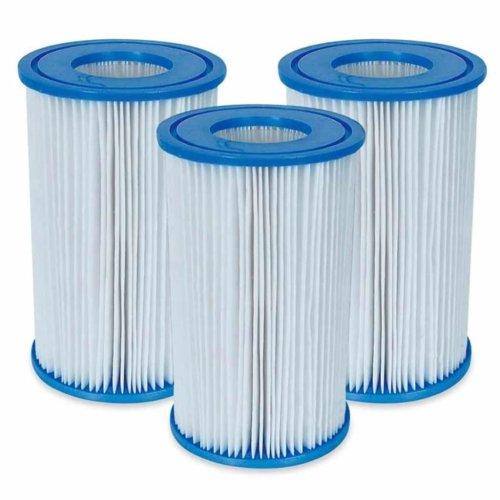 Intex Filter Cartridge Tri-Pack Swimming Pool Water Filtration Replacement