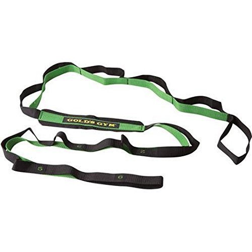 Golds Gym stretch assist strap 12 levels progressive flexibility