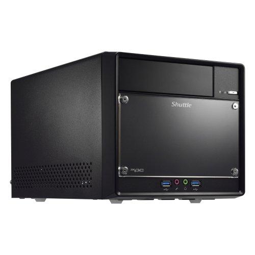 Shuttle SH110R4 Intel H110 Desktop Black PC/workstation barebone