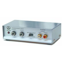 B-tech BT26 Microphone or Turntable / Record Player To Phono Pre-Amplifier