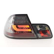 Led Taillights BMW serie 3 E46 Coupe Year 99-02 black